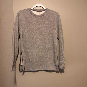 Lululemon sweatshirt with zip-up sides